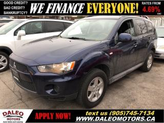 Used 2012 Mitsubishi Outlander ES 4WD (CVT)|HEATED SEATS|4WD|BLUETOOTH for sale in Hamilton, ON