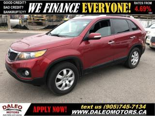 Used 2013 Kia Sorento LX|93KMS|HEATED FRONT SEATS for sale in Hamilton, ON