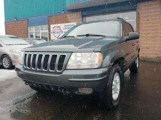 Used 2002 Jeep Grand Cherokee Limited for sale in St-Eustache, QC