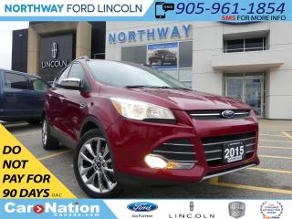Used 2015 Ford Escape SE | NAV | REAR CAM | PANO ROOF | HEATED SEATS | for sale in Brantford, ON