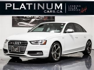 Used 2013 Audi S4 3.0T quattro Premium, NAVI, CAM, RED Leather for sale in Toronto, ON