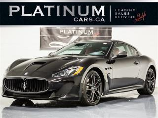 Used 2015 Maserati GranTurismo MC STRADALE, SPORTLINE, CARBON FIBER, RED LTHR for sale in Toronto, ON