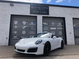 Used 2017 Porsche 911 Carrera Cabriolet Sport Chrono Sport Exhaust for sale in Guelph, ON