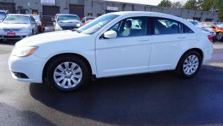 Used 2012 Chrysler 200 LX Sedan Auto Cruise Aux Certified 2Yr Warranty for sale in Milton, ON