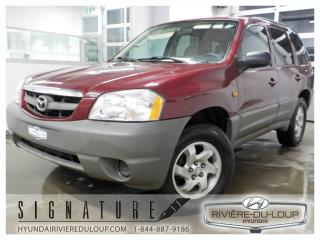 Used 2003 Mazda Tribute DX, FWD,V6,DEMARREUR A DISTANCE for sale in Rivière-Du-Loup, QC