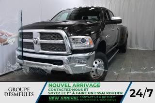 Used 2016 RAM 3500 Crew Cab. * Caméra Recul * Sièges & Vol. for sale in Laval, QC