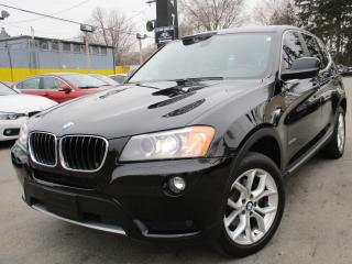 Used 2013 BMW X3 XDRIVE28I ~ NAVIGATION ~ PANORAMA ROOF !!! for sale in Burlington, ON