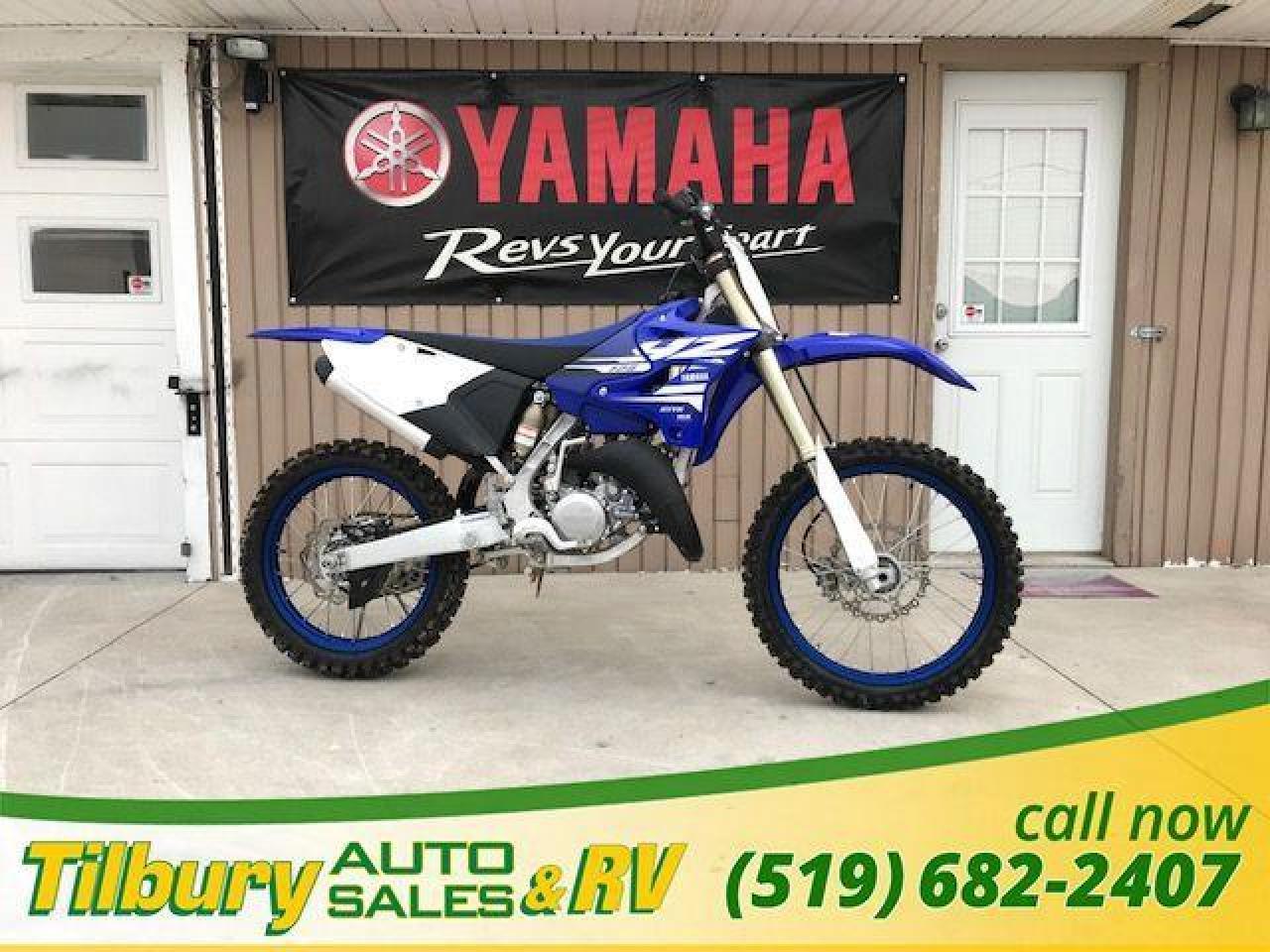 2018 Yamaha YZ125 2 STROKE, 124cc engine
