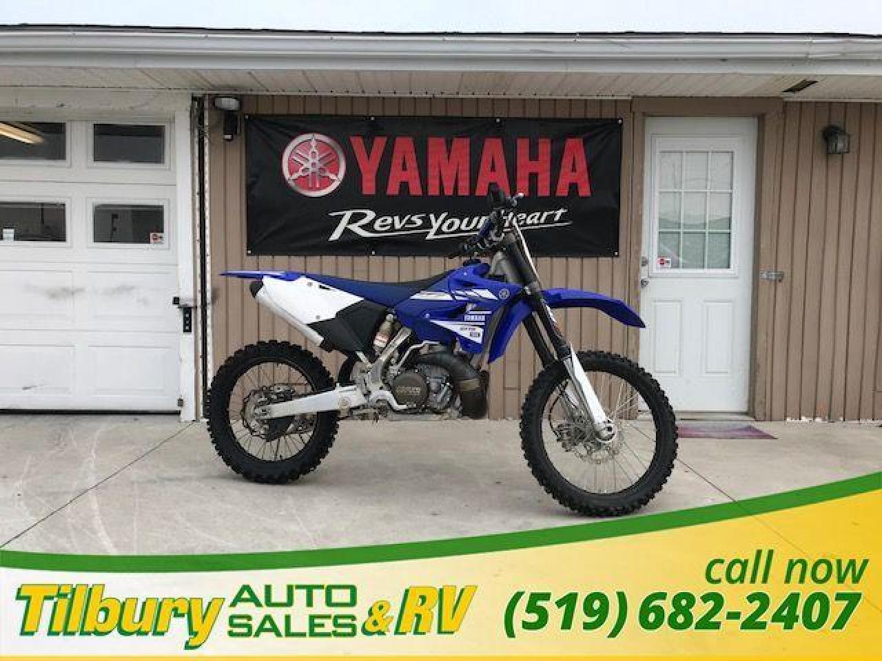 2017 Yamaha YZ250 249cc, light weight, compact engine.