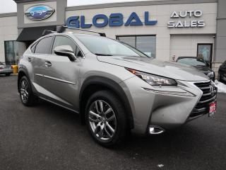 Used 2015 Lexus NX 200t AWD LEATHER NAVIGATION HEATED SEATS. for sale in Ottawa, ON