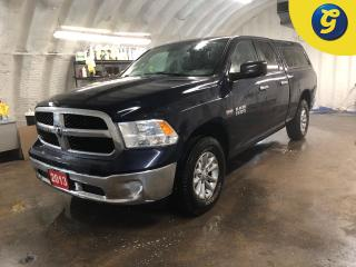 Used 2013 Dodge Ram 1500 SLT * Quad Cab * 4WD * HEMI * U connect touchscreen* * Trailer assist w/CURT Brake controls * Tow/haul mode * 17 Inch Alloy rims w/ Michelin defender for sale in Cambridge, ON