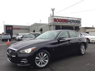 Used 2014 Infiniti Q50 AWD - NAVI - REVERSE CAM for sale in Oakville, ON