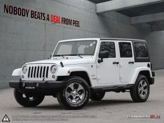 Used 2018 Jeep Wrangler Unlimited Sahara for sale in Mississauga, ON