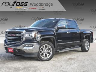 Used 2017 GMC Sierra 1500 SLT NAV, SUNROOF, VENTED SEATS for sale in Woodbridge, ON