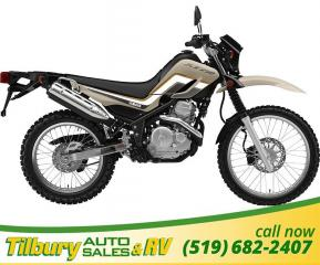 New 2018 Yamaha XT250 Dual Sport! 249cc, air-cooled, fuel injected for sale in Tilbury, ON