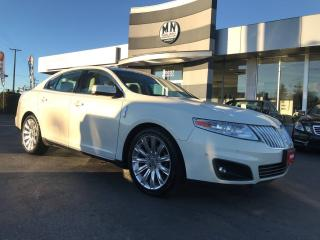 Used 2012 Lincoln MKS ECOBOOST AWD NAVI-PARK DUAL SUNROOF for sale in Langley, BC