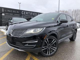 Used 2017 Lincoln MKC Reserve AWD|NAVIGATION|KEYLESS ENTRY|LEATHER for sale in Barrie, ON