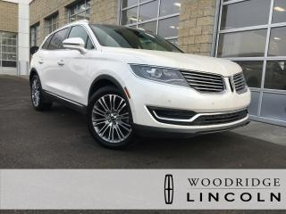 Used 2016 Lincoln MKX Reserve 3.7L, NAVIGATION, SUNROOF, AUTO PARK ASSIST, 360 CAMERA. for sale in Calgary, AB
