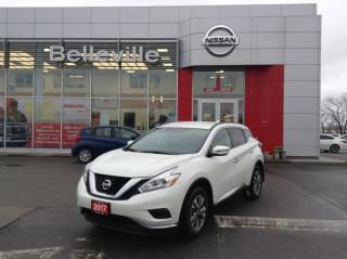 Used 2017 Nissan Murano S auto 1 OWNER LOCAL TRADE for sale in Belleville, ON