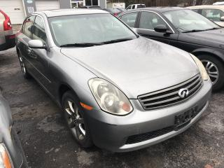 Used 2005 Infiniti G35 Luxury for sale in Georgina, ON