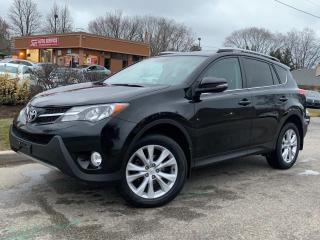 Used 2015 Toyota RAV4 LIMITED-AWD-NAVI-BACKUP CAM-SUNROOF for sale in Mississauga, ON
