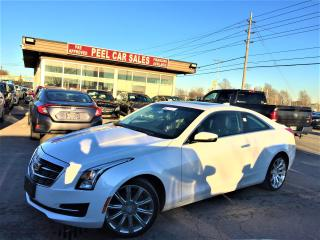 Used 2015 Cadillac ATS AWD|NAVI|SUNROOF|BACK-UP CAMERA for sale in Mississauga, ON