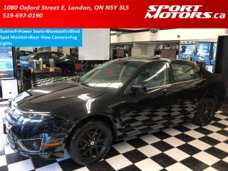 Used 2012 Ford Fusion SEL+Sunroof+Camera+Blind Spot Monitor+Power Seats for sale in London, ON