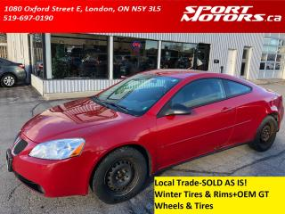 Used 2006 Pontiac G6 GT+2 Sets of Tires! AS IS! for sale in London, ON