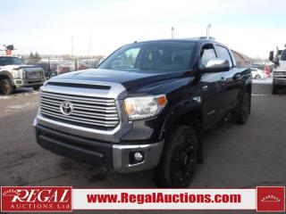 Used 2015 Toyota Tundra Limited Crew MAX 4WD 5.7L for sale in Calgary, AB
