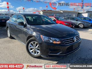 Used 2018 Volkswagen Passat 2.0 TSI Trendline+ | 1OWNER | CAM | HEATED SEATS for sale in London, ON