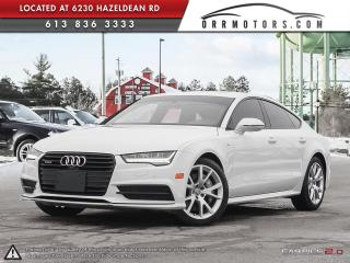 Used 2016 Audi A7 3.0 Technik S-Line for sale in Ottawa, ON