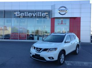 Used 2016 Nissan Rogue SV AWD MOONROOF 1 OWNER LOCAL TRADE for sale in Belleville, ON
