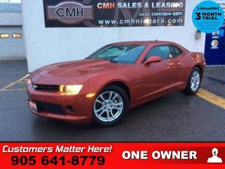 Used 2015 Chevrolet Camaro LT w/1LT  MANUAL CAMERA 7 -TOUCH STREAMING-BT 18 -ALLOYS for sale in St. Catharines, ON
