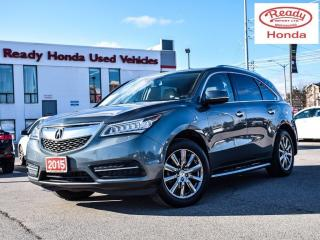 Used 2015 Acura MDX Nav Pkg | Leather | Navigation | Rear Camera for sale in Mississauga, ON