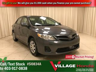 Used 2013 Toyota Corolla CE for sale in Calgary, AB