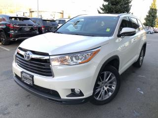 Used 2015 Toyota Highlander HYBRID XLE for sale in North Vancouver, BC