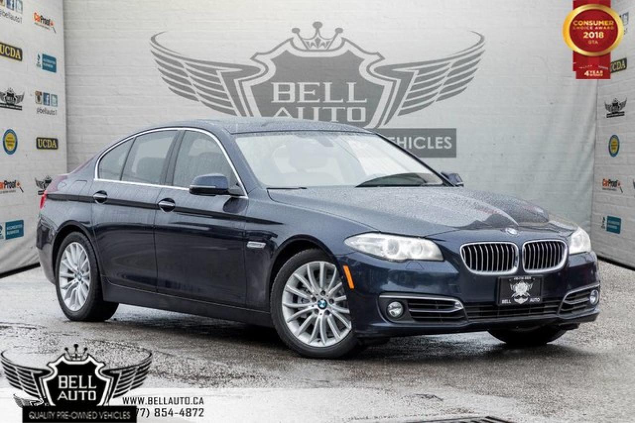2014 BMW 5 Series 528i xDrive, PREMIUM PKG, NAVI, 360 CAM, HEATED SEATS, LEATHER