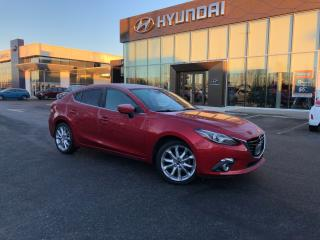 Used 2014 Mazda MAZDA3 GT-SKY:LEATHER/SUNROOF/NAVI for sale in Port Coquitlam, BC
