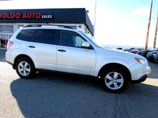 Used 2010 Subaru Forester 2.5X AWD Convenience Pkg Automatic Certified for sale in Milton, ON