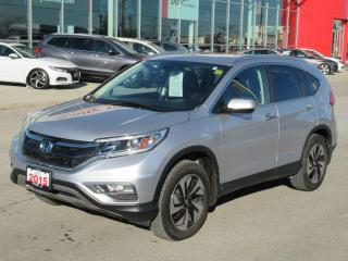 Used 2015 Honda CR-V Touring, HONDA CERTIFIED! for sale in Brampton, ON