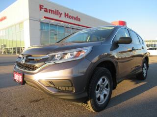 Used 2015 Honda CR-V LX, BACK UP CAM, HEAT SEATS for sale in Brampton, ON