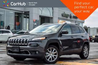 Used 2018 Jeep Cherokee Limited|RemoteAutoStart|HtdFrntSeats|SatRadio|Bluetooth|18