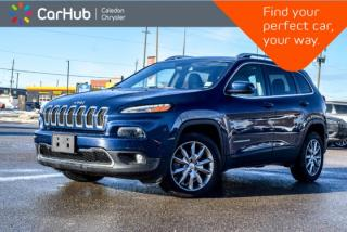 Used 2018 Jeep Cherokee Limited|Navi|Bluetooth|Backup Cam|R-Start|Leather|Heated Front Seats|18