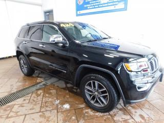 Used 2017 Jeep Grand Cherokee LIMITED SUNROOF for sale in Listowel, ON