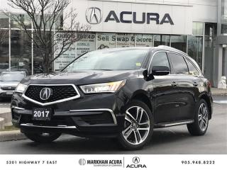 Used 2017 Acura MDX Navi Bkup Cam, Pwr Trunk, Htd Seats, Pwr Seat for sale in Markham, ON