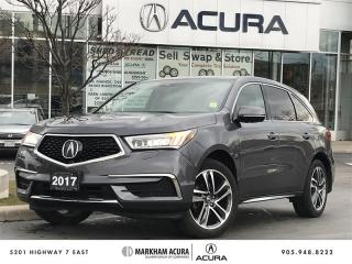 Used 2017 Acura MDX Navi SH-AWD, PWR TRUNK, BK UP CAM, TRIZONE CLMTE for sale in Markham, ON