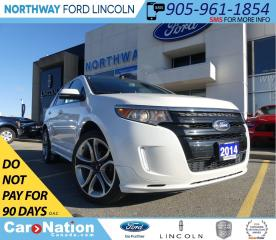 Used 2014 Ford Edge Sport | NAV | LEATHER | REMOTE START | PANO ROOF for sale in Brantford, ON