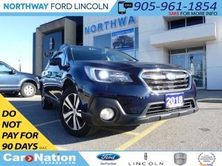 Used 2018 Subaru Outback 2.5i LTD | EyeSight PKG | NAV |LEATHER|AWD| for sale in Brantford, ON