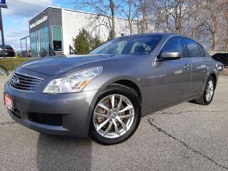 Used 2009 Infiniti G37X  Sedan Sport for sale in Beamsville, ON