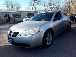 Used 2008 Pontiac G6 SE,Certified for sale in Oshawa, ON